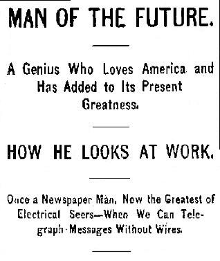 Tesla Uomo del Futuro