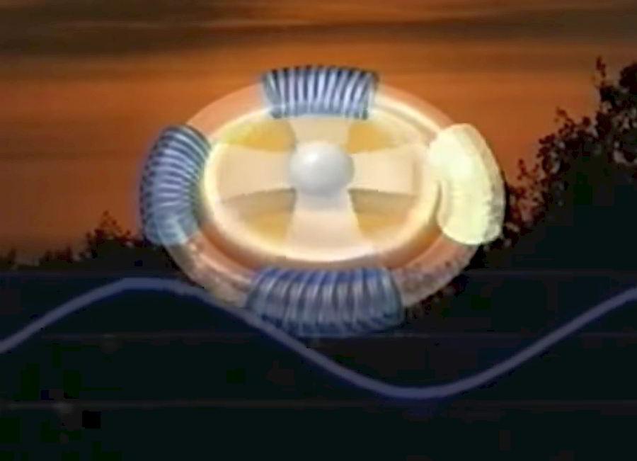 concetto del motore elettrico